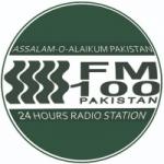 Logo da emissora Radio Pakistan 100.0 FM