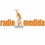 Logo da emissora Radio A Medida 105.6 FM