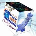 Logo da emissora Radio Awaz 105.0 FM