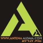 Logo da emissora Radio Antena Aldaia 107 FM