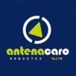 Logo da emissora Radio Antena Caro 96.0 FM