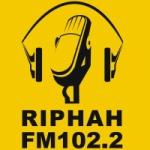 Logo da emissora Radio Riphah 102.2 FM