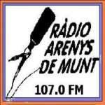Logo da emissora Radio Arenys de Munt 107.0 FM