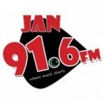 Logo da emissora Radio Jan 91.6 FM
