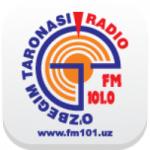Logo da emissora Radio O'zbegim Taronasi 101.0 FM