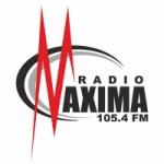 Logo da emissora Radio Maxima 105.4 FM