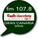 Logo da emissora Radio Aventura 107.8 FM