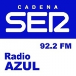 Logo da emissora Radio Azul Pedroñeras 92.2 FM