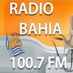 Logo da emissora Radio Bahia 100.7 FM