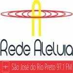 Logo da emissora Rádio Rede Aleluia 97.1 FM