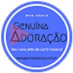Logo da emissora Genuína Adoração