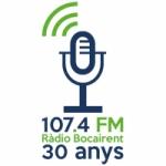 Logo da emissora Radio Bocairent 107.4 FM