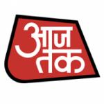Logo da emissora Aaj Tak Tv