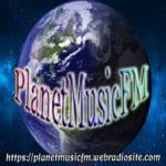 Logo da emissora Planet Music FM