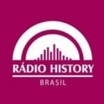 Logo da emissora Rádio History Brasil