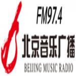 Logo da emissora Beijing Music Radio 97.4 FM