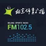 Logo da emissora Beijing Sports Radio 102.5 FM