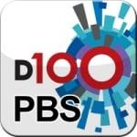 Logo da emissora D100 PBS Radio