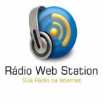 Logo da emissora Rádio Web Station