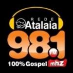 Logo da emissora Rádio Atalaia 98.1 FM
