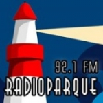 Logo da emissora Rádio Parque 92.1 FM