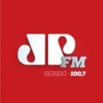 Logo da emissora Rádio Jovem Pan 100.7 FM