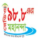 Logo da emissora Radio Mahananda 98.8 FM
