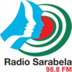 Logo da emissora Radio Sarabela 98.8 FM