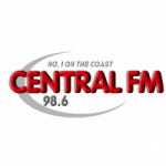 Logo da emissora Radio Central 98.6 FM