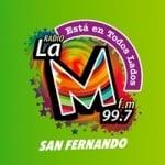 Logo da emissora Radio La M 99.7 FM