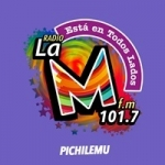 Logo da emissora Radio La M 101.7 FM