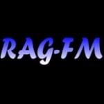 Logo da emissora Rag FM 107.7 FM