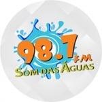 Logo da emissora Rádio Som Das Águas 98.7 FM