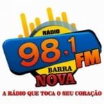 Logo da emissora Rádio Barra Nova FM