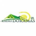 Logo da emissora Radio Doramas 96.8 FM