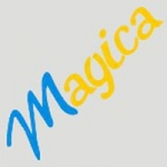 Logo da emissora Radio Magica 98.7 FM