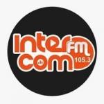 Logo da emissora Radio InterCom 105.3 FM