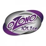 Logo da emissora Radio Ozono 101.7 FM