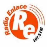 Logo da emissora Radio Enlace 107.5 FM