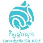 Logo da emissora Lotus Radio 100.5 FM