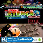 Logo da emissora Rádio Atenção Guamaré