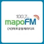 Logo da emissora Radio Mapo 100.7 FM