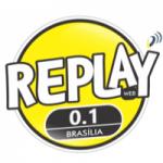 Logo da emissora Rádio Replay FM