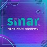 Logo da emissora Radio Sinar 96.7 FM