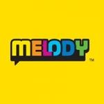 Logo da emissora Radio Melody 100.0 FM