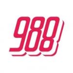 Logo da emissora Radio 988 FM