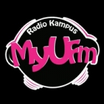 Logo da emissora Radio MyU 95.5 FM