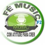 Logo da emissora Rádio Fé Music F2