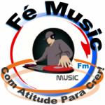 Logo da emissora Rádio Fé Music FM