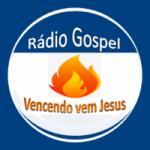 Logo da emissora Rádio Gospel Vencendo Vem Jesus